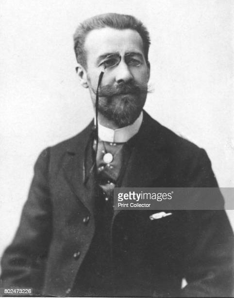 Fabrice Carre' c1893 Jules Fabrice French playwright and librettist From the 2e collection [Felix Potin c1893] Artist Unknown