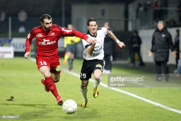 Fabrice COLLEAU / Virgile RESET Vannes / Guingamp 22e journee Ligue 2