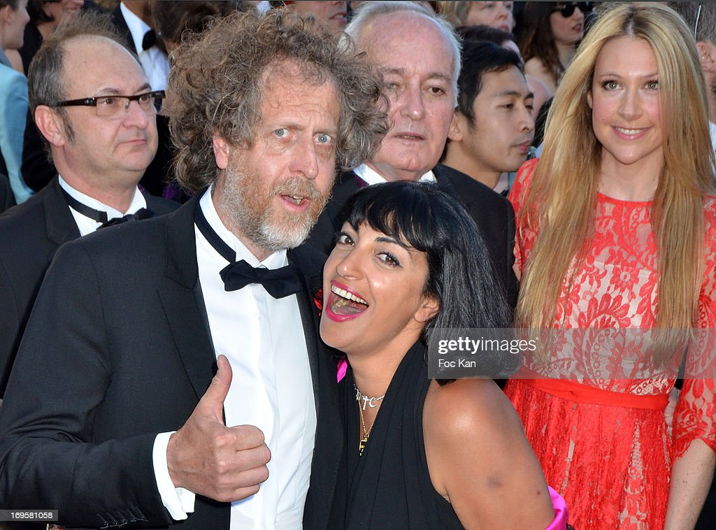 Fabrice de Rohan Chabot and Patrick Partouche daughter attend the Premiere of 'Zulu' and the Closing Ceremony of The 66th Annual Cannes Film Festival at Palais des Festivals on May 26, 2013 in Cannes, France.