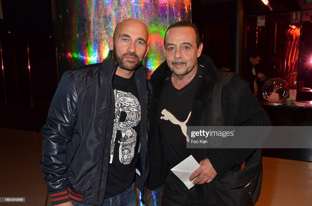 Fabrice Dugal and Patrick Sarfati attend the 'Cheries Cheris' Gay Lesbian Transexual 19th Film Festival Closing Ceremony At The Forum DesHalles on October 20, 2013 in Paris, France.