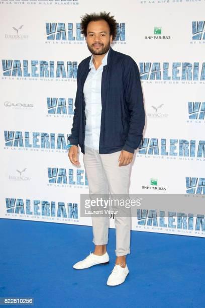 Fabrice Eboue attends 'Valerian et la Cite desMille Planetes' Paris Premiere at La Cite Du Cinema on July 25 2017 in SaintDenis France