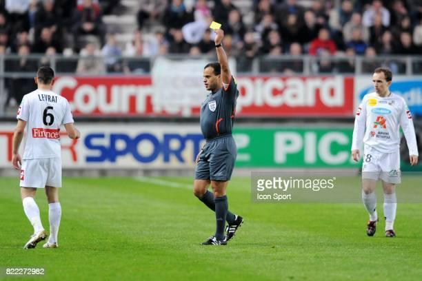 Fabrice LEVRAT / Said ENNJIMI Amiens / Lens 30eme journee de Ligue 2 Stade de la Licorne Amiens