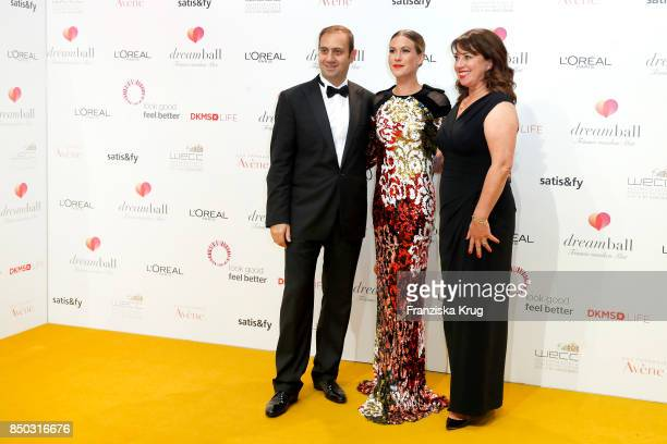 Fabrice Megarbane Wolke Hegenbarth and Ruth Neri attend the Dreamball 2017 at Westhafen Event Convention Center on September 20 2017 in Berlin Germany