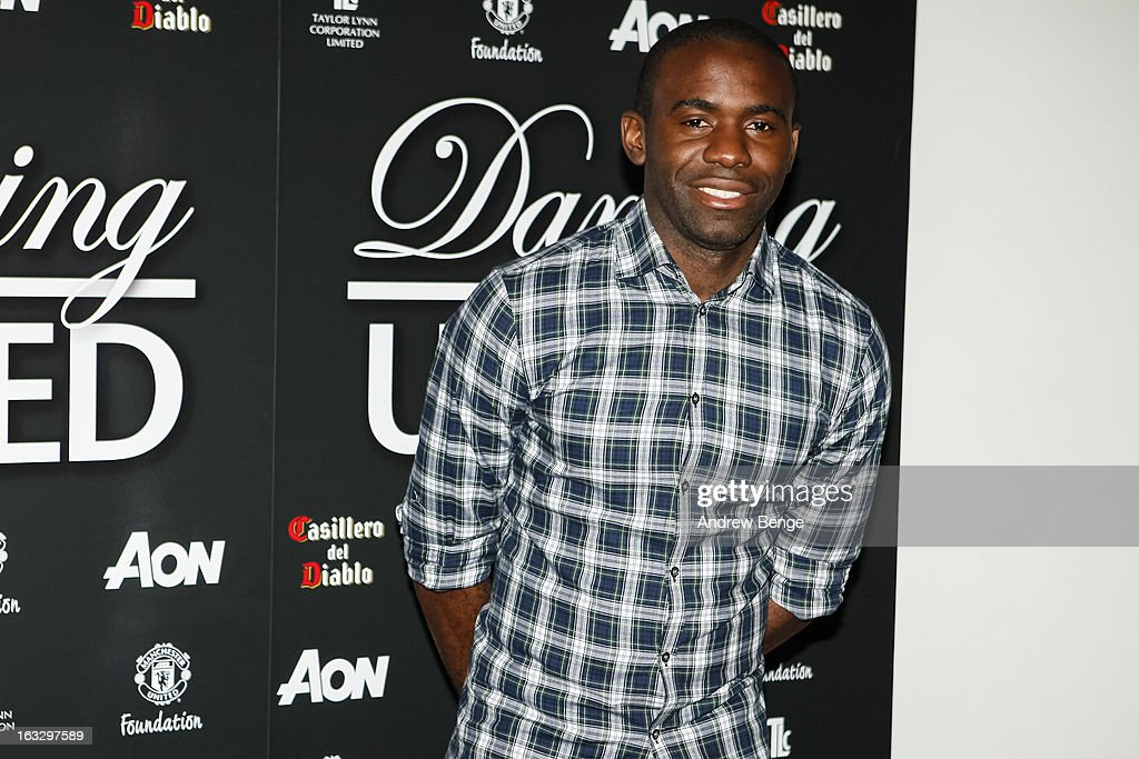 Fabrice Muamba attends the Manchester United Foundations Dancing with united charity fundraiser at Lancashire County Cricket Club on March 7, 2013 in Manchester, England.
