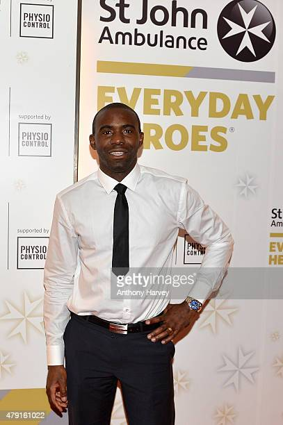 Fabrice Muamba attends the St John Ambulance's Everyday Heroes Awards a starstudded celebration of the nation's life savers at Lancaster London Hotel...