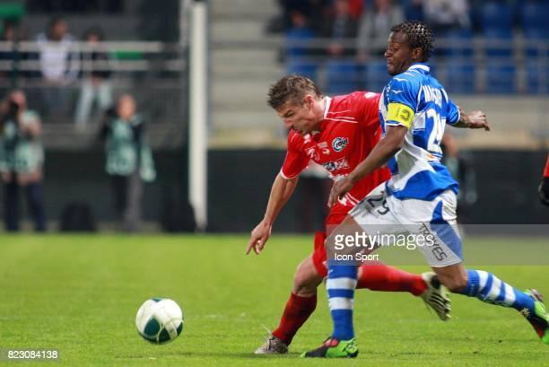 Fabrice N'SAKALA / Mehdi MOSTEFA Troyes / Nimes 33eme journee de Ligue 2