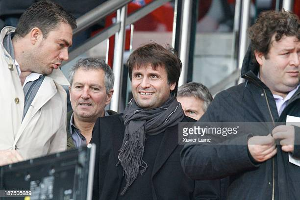 Fabrice Santoro attends the French Ligue 1 between Paris SaintGermain FC and OGC Nice at Parc Des Princes on November 09 2013 in Paris France