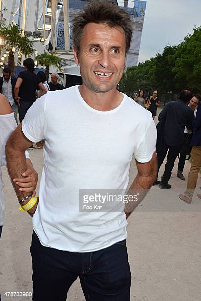 Fabrice Santoro attens 'Fete des Tuileries' Launch Party To Benefit Meghanora Association on June 26 2015 in Paris France