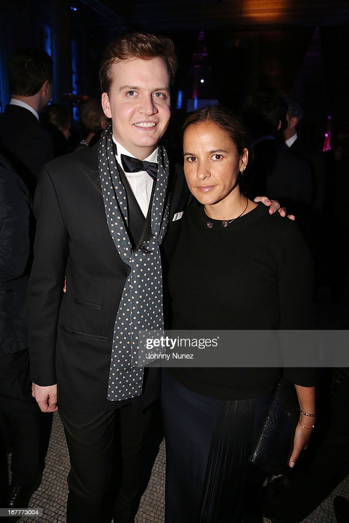 Fabricio Cardenas and Sara Beltran attend the 67th Anniversary Jose Limon Dance Foundation Gala at Capitale on April 29, 2013 in New York City.