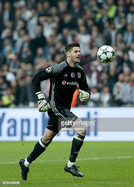 Fabricio of Besiktas in action during the UEFA Champions League Group B football match between Besiktas and Benfica at Vodafone Arena in Istanbul...