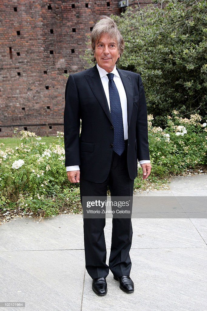 Fabrizio Del Noce attends the RAI Autumn / Winter 2010 TV Schedule held at Castello Sforzesco on June 15, 2010 in Milan, Italy.