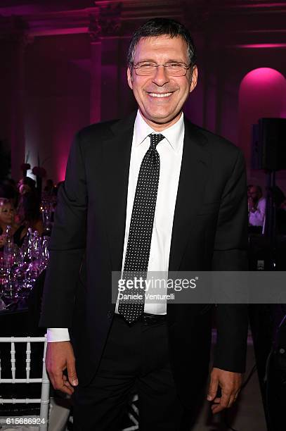 Fabrizio Frizzi attends the Telethon Gala during the 11th Rome Film Fest on October 19 2016 in Rome Italy