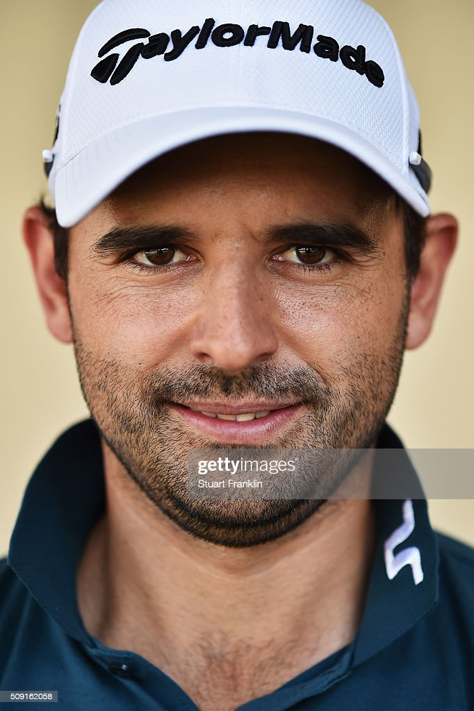 Fabrizio Zanotti of Paraguay poses for a picture prior to the start of the Tshwane Open at Pretoria Country Club on February 09, 2016 in Pretoria, South Africa.