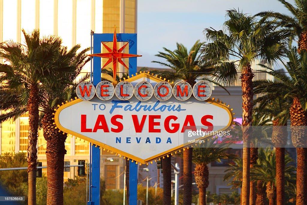 Fabulous Las Vegas sign : Stock Photo