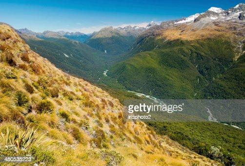 Fantastische Landschaft in Neuseeland : Stock-Foto
