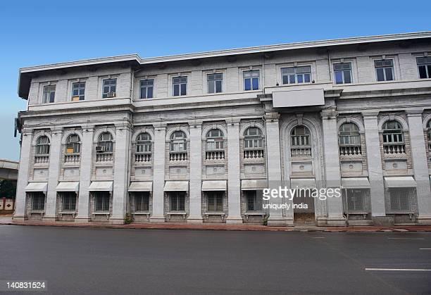 Facade of a building, Bangalore, Karnataka, India
