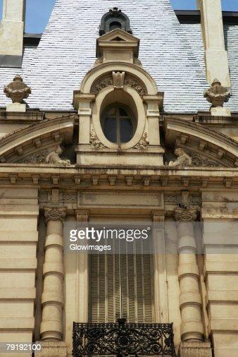 Facade of a building, Buenos Aires, Argentina : Stock Photo
