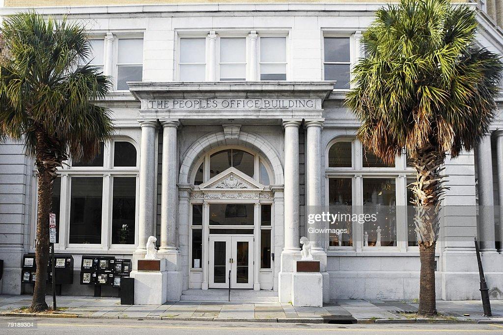 Facade of a building, Charleston, South Carolina, USA : Stock Photo