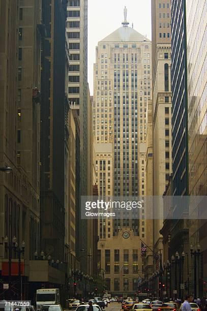 Facade of a building, Chicago Board of Trade, Chicago, Illinois, USA