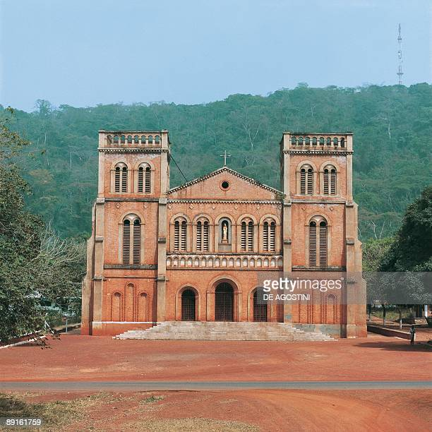 Facade of a cathedral Notre Dame Cathedral Bangui Central African Republic
