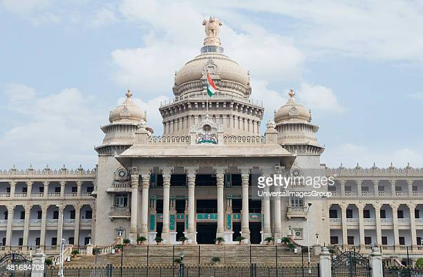 Facade of a government building Vidhana Soudha Bangalore Karnataka India