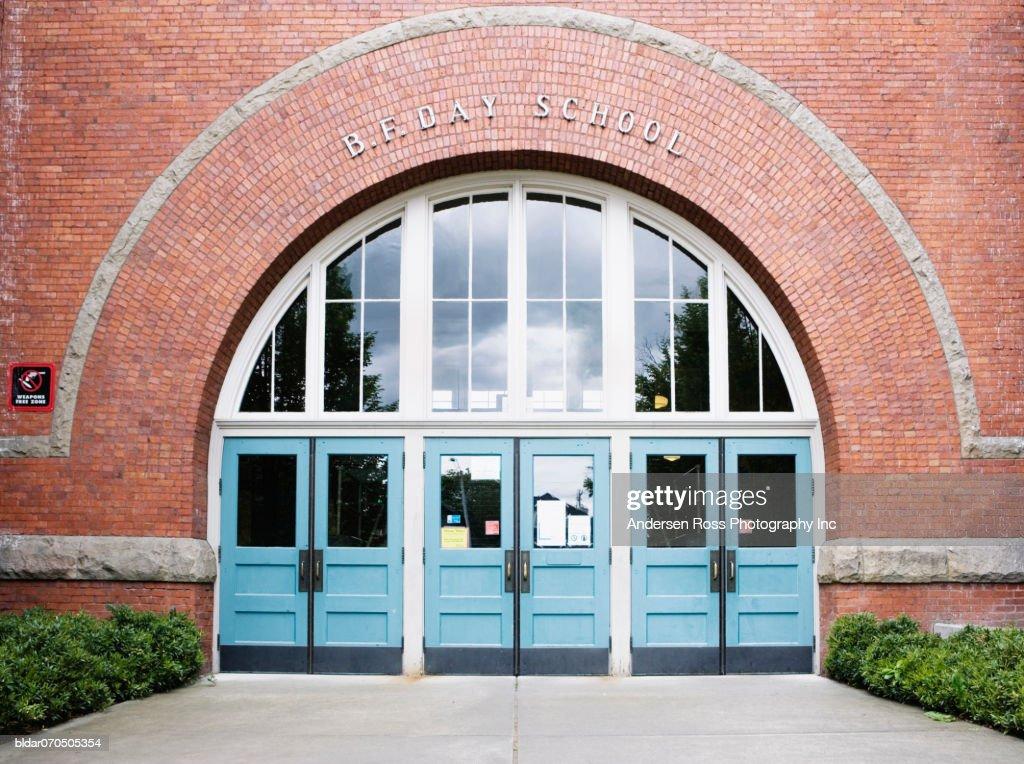 Facade of a school