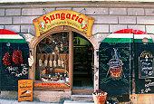 Facade of a shop, Passau, Germany