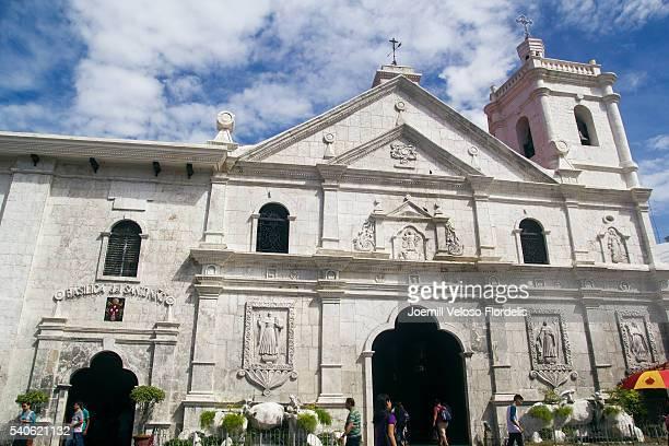 Facade of Basilica del Santo Niño (Cebu City, Philippines)