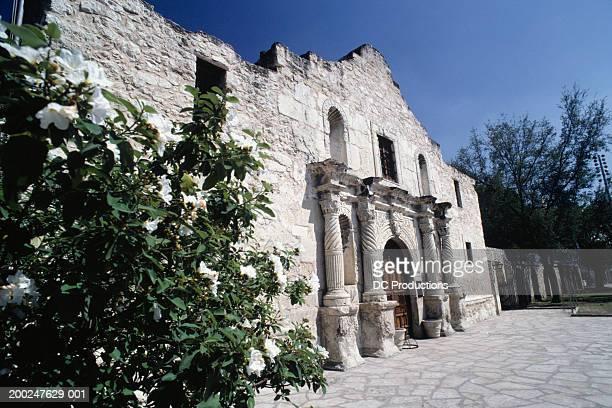 Facade of building, The Alamo, San Antonio, Texas, USA
