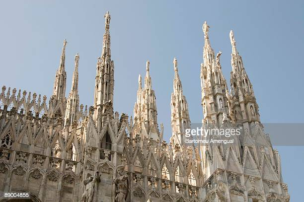 Facade of Cathedral of Milan, Italy