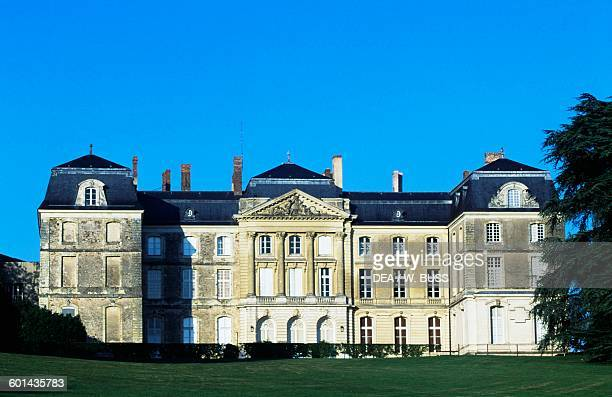 Facade of Chateau de Sable 17151750 technical centre of the National Library of France Pays de la Loire France 18th century