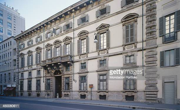 Facade of Durini Palace in Milan by Francesco Maria Richini 1645 1648 17th Century