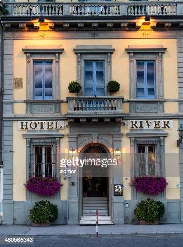 Facade of  Hotel River : Stock Photo