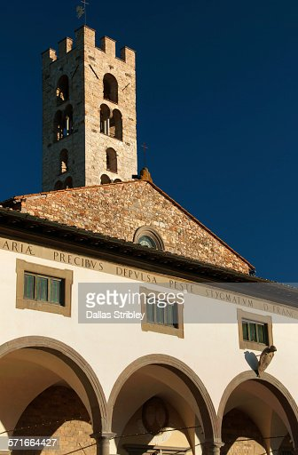 Facade of 'Saint Maria all'Impruneta' church