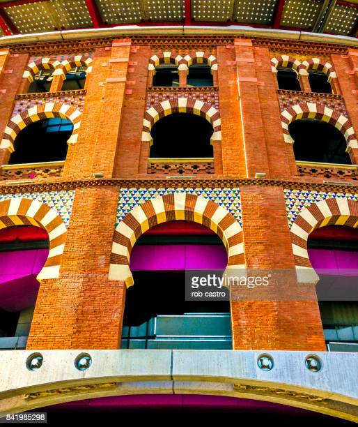 Facade of the Arena in Barcelona