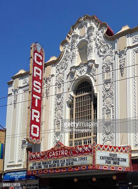 Facade of the Castro Theater in San Francisco