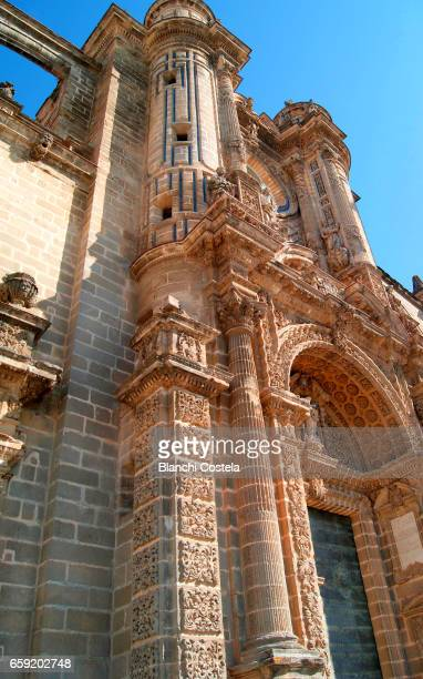Facade of the Cathedral of Jerez de la Frontera