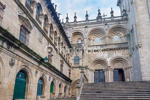 Plaza de fachada de la catedral de santiago de compostela - Fotografo santiago de compostela ...