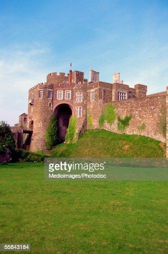 Facade of the Dover Castle, Kent, England