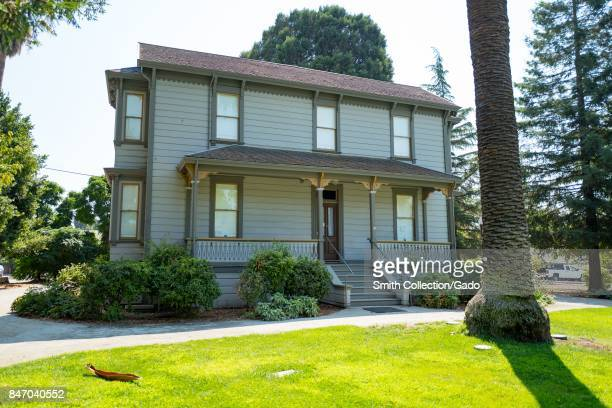 Facade of the Francisco Galindo Home a historic home in downtown Concord California September 8 2017