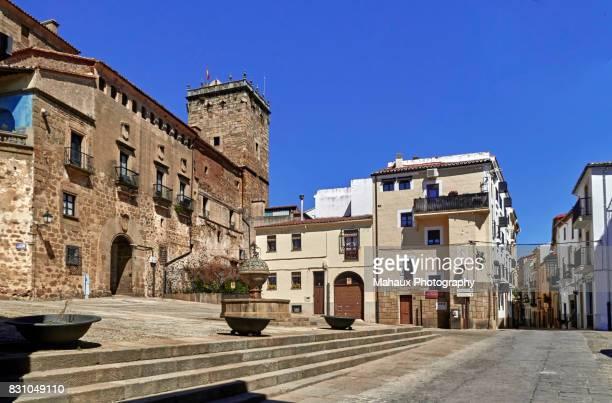 Facade of the Marqués de Mirabel Palace (XV century)