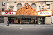 Facade of the Stanley Theater in Jersey City, NJ