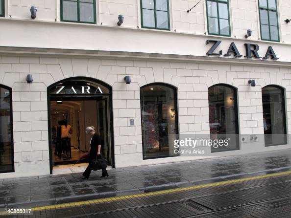 zara brand name stock photos and pictures getty images. Black Bedroom Furniture Sets. Home Design Ideas