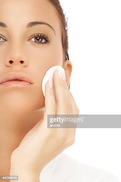 Gesicht reinigen