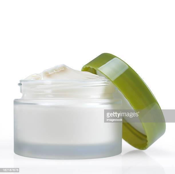 Pot de crème pour le visage