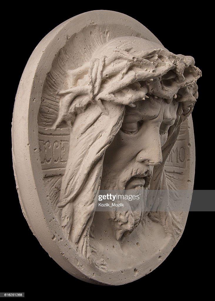 face of Christ : Foto de stock