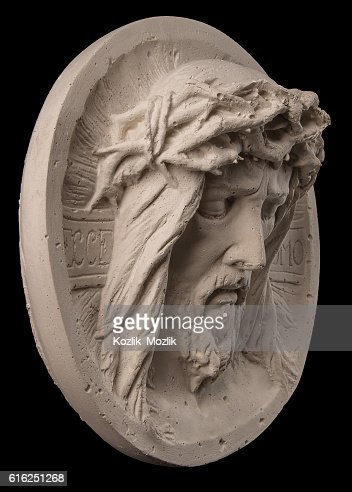 face of Christ : Foto de stock