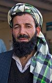 Face of pakistani people in turban