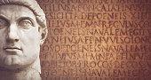 Face of the Emperor Constantine