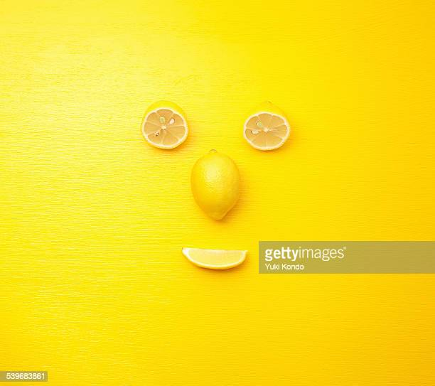 Face of the person who modeled in lemon.